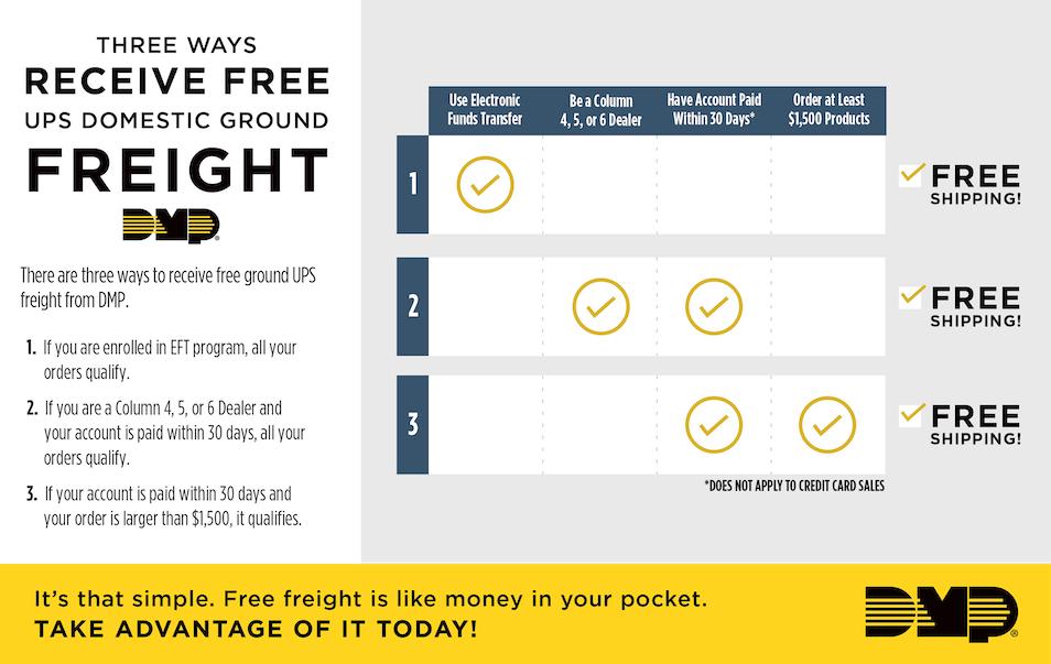 Three Ways to Receive Free Freight